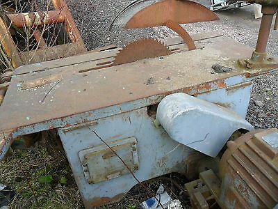 Wadkin Rip Table Bench Saw 3 Phase
