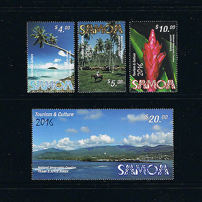 2016 Samoa Tourism Definitives Postage Stamp Set