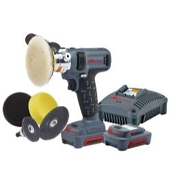 Ingersoll Rand G1621-K2 IQV12 Polisher/Sander Kit With (2) Ahr Li-Ion Batteries