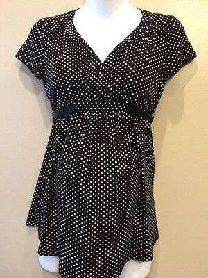 Two Hearts Maternity Small Nursing Top With Tiebacks