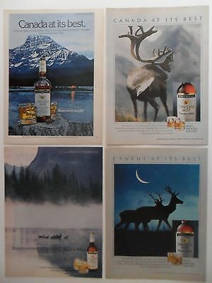Nice Lot of 20 Different Canadian Mist Whiskey Magazine Print Ads