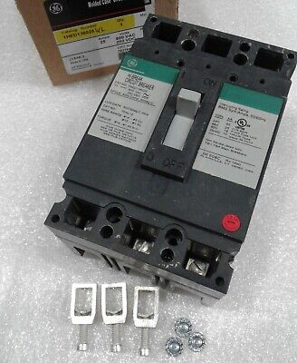 THED136025WL GE Molded Case Circuit Breaker 3 Pole 25 Amp 600V (New)