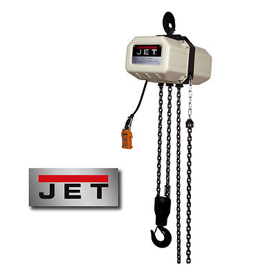 JET 5-Ton Electric Chain Hoist with 10' Lift ~ Model: 5SS-3C-10 ~ 3 Ph.