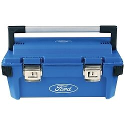 "Ford Tools FMCFHT0316 Tool Box HD Plastic 25.6"" x 10.8"" x 10.4"""