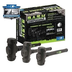 Wilton 11113 B.A.S.H Dead Blow Hammer Kit (3 Piece)