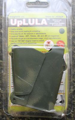 NEW Mag Lula UpLULA UNIVERSAL Pistol Magazine Loader 9mm - .45 UP60DG DARK GREEN