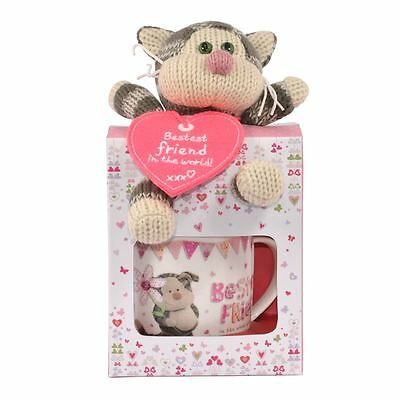 Boofle Bestest Friend Mug & Plush Gift Set with Puddy the Cat