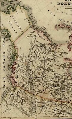 Map Of Canada James Bay.1827 Vandermaelen Map Hudson Bay James Bay Canada North 75 00