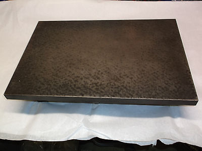 """Cast Iron Machinist Inspection Surface Plate for Bench Table Top 12"""" x 18"""" x 4"""""""