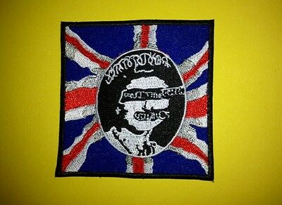 Sex Pistols Iron On Hat Jacket Backpack Hoodie Patch Music Crest A