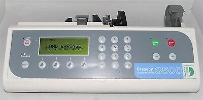 Graseby 3500 Anesthesia Syringe Driver Infusion Pump Fluid Administration