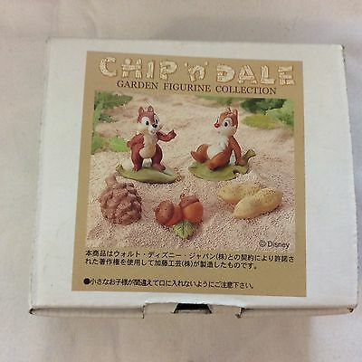 disney chip n dale mini garden figurine collection from japan brand new