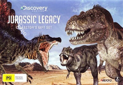 Jurassic Legacy (Collector's Gift Set) NEW PAL Series Cult 9-DVD Set Bill Mondy