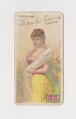 1880s Victorian Trade Card for LORILLARD'S 5 CENT ANTE TOBACCO  from NEW JERSEY