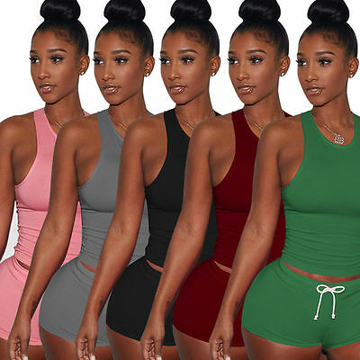 2PCS Suit Women Athletic Gym Exercise Yoga Suits Running Fitness Sports Clothes