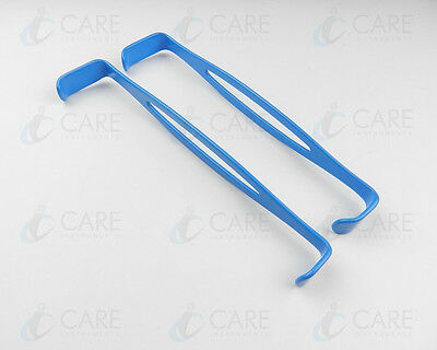 US Army Retractor Insulated, Double Ended Set Of  2, Care Instruments Retractors