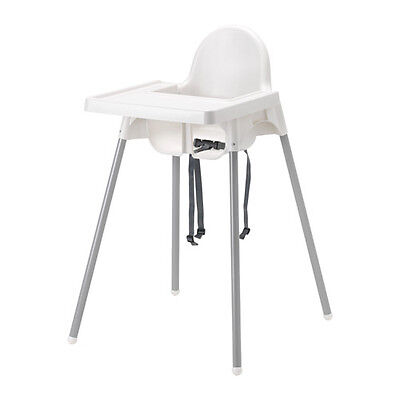 New Ikea Baby Kids High Chair Tray Table Feed White