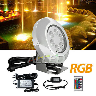 RGB LED Swimming Pool Light Spa Underwater Spot Lighting+Driver+Color Controller