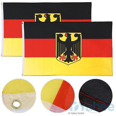 polyester 3x5 ft germany flag with eagle german flag national flag