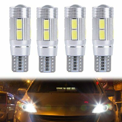 4x 10 SMD T10 5630 CREE CHIP LED Xenon w5w Canbus Standlicht Beleuchtung Lamp 3W