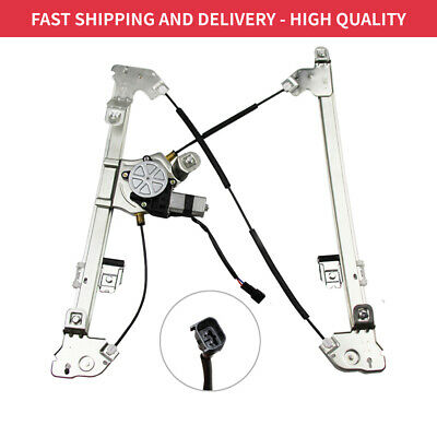 Front Passenger Side Power Window Regulator With Motor Fits Ford F-150 Crew Cab