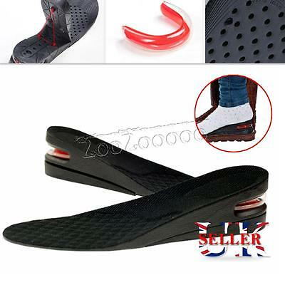3 / 5 cm Shoe Lift Height Increase Heel Lifts Insoles Taller Air Bubble Cushion