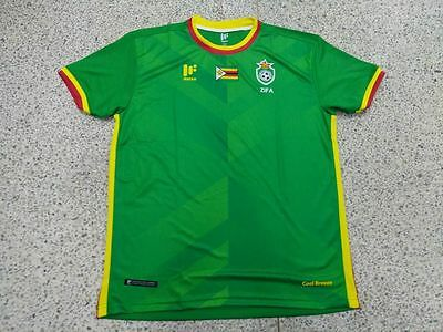 NWOT Zimbabwe National Teams Football Soccer Jersey Africa Cup of Nation 2017