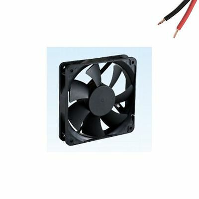 120mm DC 12V 0.35A Sleeve Bearing Brushless Computer Cooling Fan 2 Bare Wire