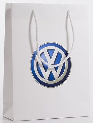 New Genuine Pack Of 6 Vw Volkswagen Paper Gift Bags
