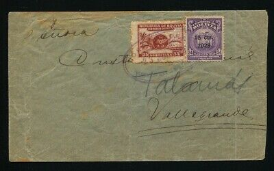 Bolivia Che Guevara First Airmail To Vallegrande Special Message Judaica 1928