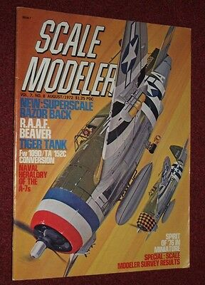 Scale Modeler 7.8 August 1972