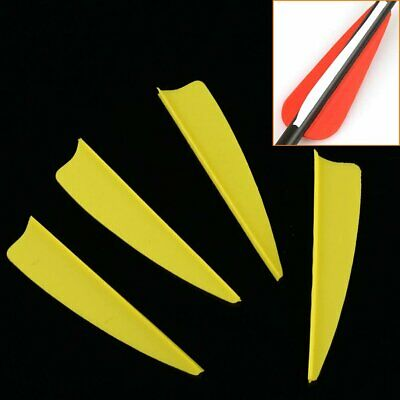 50pcs 2/3/4/5 inch Shield  Arrow Vane  Fletching for DIY Arrow Bow Archery