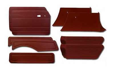 1968-1973 VW Squareback 9pc Panel Set W/O Pockets, (Choose Color)