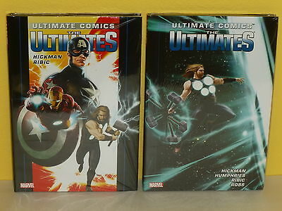 THE ULTIMATES vol 1-2 HCs - Hickman RIBIC - Marvel - ULTIMATE COMICS  Humphries