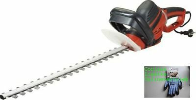 Ikra IHS 650 electric hedge trimmer Cut length: 55 cm 650 W Motor+Gloves