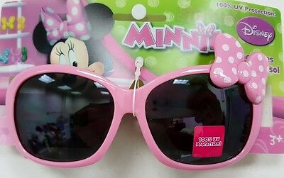 Disney Minnie Mouse  kids 100 % UV Protection Sunglasses  Girl New Pink Bow