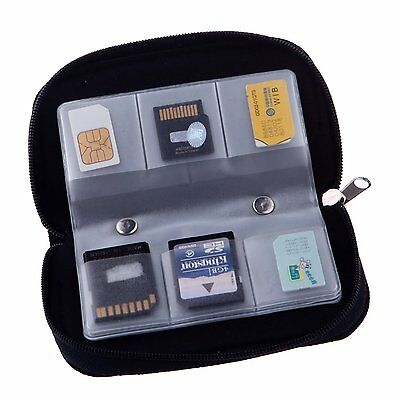 22 Slots Case Pouch Holder for Memory Card Sd Card.memory Card Carrying Case 2