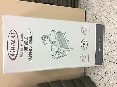 Brand NEW Graco Pack N Play Portable Napper & changer --Affinia Collection
