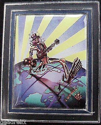 GRATEFUL DEAD UNCLE SAM EURO DEAD U.S. BLUES  2 in LIMITED EDITION  PHOTO PIN