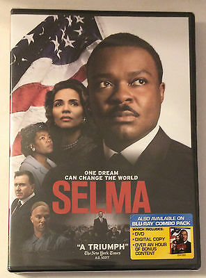 Selma  New 2015  David Oyelowo Tom Wilkinson  New Sealed Dvd  Free Shipping