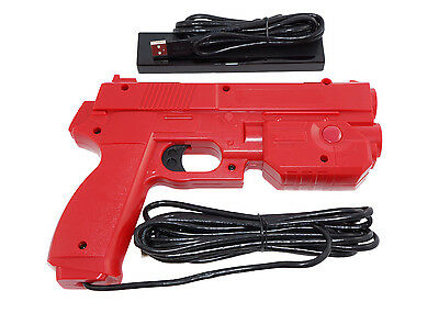 Red Ultimarc AimTrak Arcade Light Gun for MAME,Win,PS2,PS3