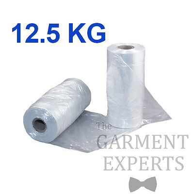 Continuous Polythene Roll *12.5KG* Clothes Garment Protector Bag Travel Packing