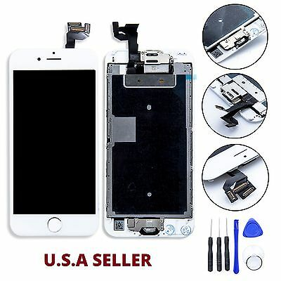 "White Full LCD Screen Display 3D Touch Digitizer For iphone 6S Plus 5.5"" 6S+ USA"