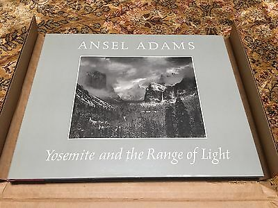 Ansel Adams Yosemite and the Range of Light BOOK NIB, Signed 1981