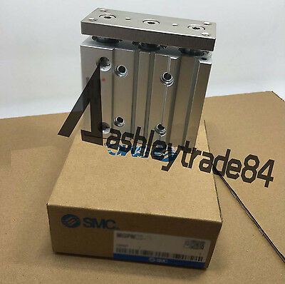 NEW SMC MGPM25-100 Slide Bearing Compact Guide Cylinder