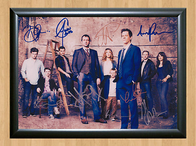 The Following Cast x9 Signed Autographed A4 Print Photo Poster Memorabilia Kevin