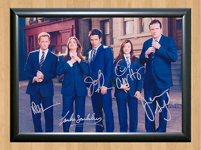 How I Met Your Mother x5 Signed Autographed A4 Print Photo Poster Memorabilia tv