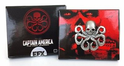 EFX Collectibles Marvel Comics Captain America Official Hydra Pin Prop Replica