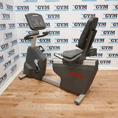 Refurbished Life Fitness Activate Recline Bike (Commercial Gym Equipment)