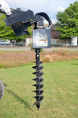 "Bobcat Skid Steer Attachment - Lowe 750 Classic Hex Auger - 9"" Bit - Ship $199"